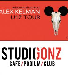 Siberian artist and sound producer Alex Kelman, who was behind such critically acclaimed Russian bands as Punk TV, Hot Zex, Dsh!Dsh!, TonySoprano and more is coming to town to present his new album