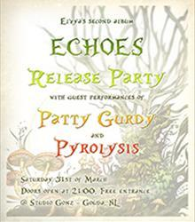 Elvya (BE): CD-release 'Echoes' + Patty Gurdy (DE) + Pyrolysis