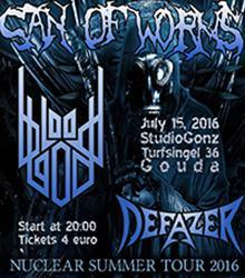 Can of Worms (FR) + Bloodgod + Defazer