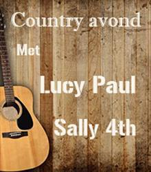Country avond met Lucy Paul & Sally 4th