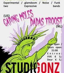 Dada's Troost (NL) + Gaping Moles (US)