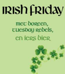 Irish Friday met Boreen en Tuesday Rebels live
