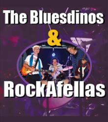 RockAfellas + The Blues Dino's