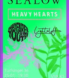 Sealow + Wayfarer Youth + Heavy Hearts + Lightcliffe