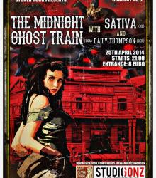 The Midnight Ghost Train (USA) + Sativa  (NL) + Daily Thompson (DE)