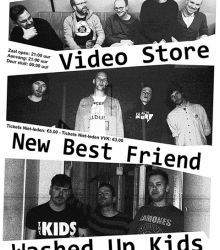 Video store + Washed Up + New Best Friend