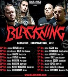 Blackning (ALieNation Tour) + Support