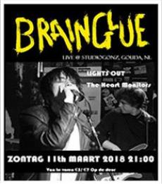 Brainglue + Lights out + The Heart Monitors