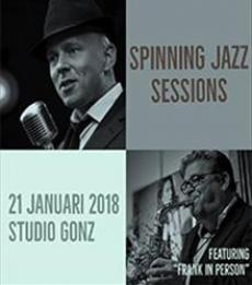 Spinning Jazz Sessions: Frank in Person!
